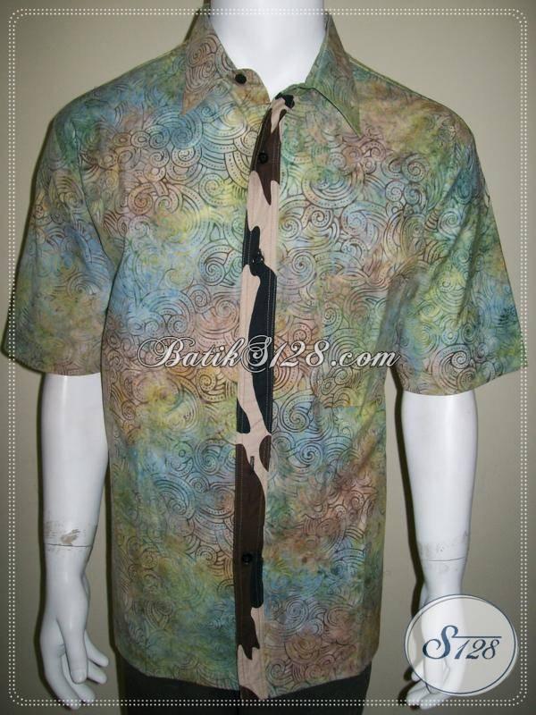 Batik Pria Kombinasi, Bahan Katun Halus dan Tidak Luntur [LD439CS-XL]