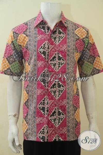 Baju Batik Paling Trendy Buat Pesta, Hem Batik Halus Motif Terbaru Yang banyak Di Suka, Pakaian Batik Cap Tulis  Harga Terjangkau Kwalitas Premium, Size L