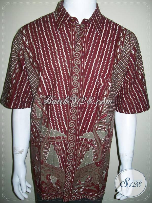 Jual Baju Batik Pria Kerja Kantor