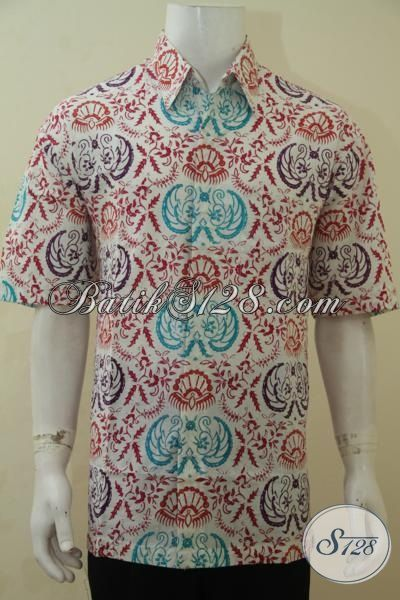 Hem Batik Pria Dewasa Dengan Motif Khas Anak Muda, Baju Batik Santai Yang Modis Juga Buat Kerja, Proses Cap Bledak Halus Dan Adem Size XL