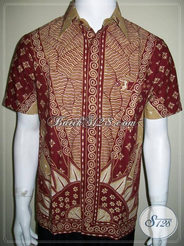 Batik Anak Muda Modern, Batik Tulis Pegawai Kantor Pria [LD460T-S]