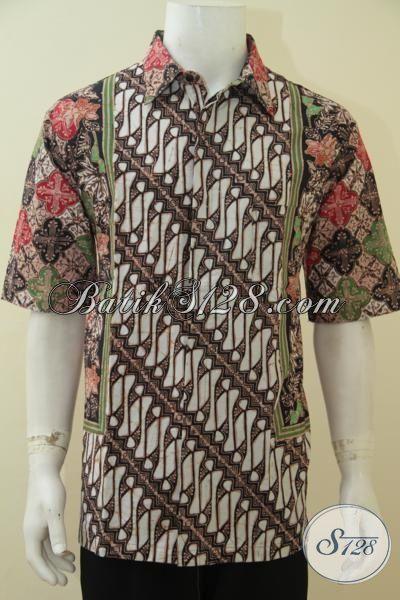 Produk Pakaian Batik Dua Motif Kesukaan Pria Masa Kini