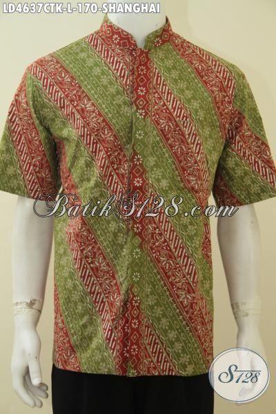Toko Online Pakaian Batik Jawa Paling Up to Date, Sedia Hem Batik Koko Motif Terbaru Yang Banyak Di Cari, Baju Batik Cowok Gaul Dan Modern, Size L
