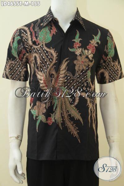 Jual Kemeja Batik Modern Buatan Solo, Produk Pakaian Batik Tulis Motif Terbaru Khas Anak Muda Untuk Tampil Beda Dan Bergaya, Size M
