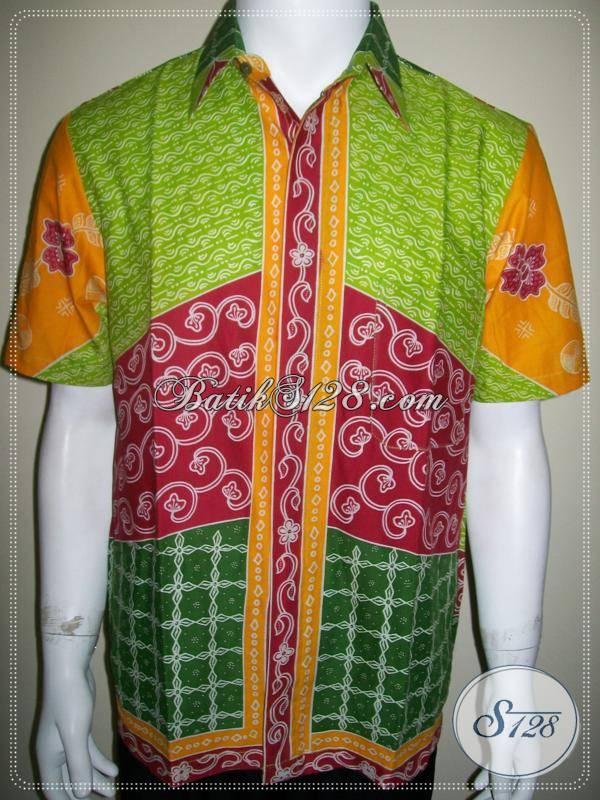 Kemeja Batik Gaul Warna Warni Keren 29788a4a2b