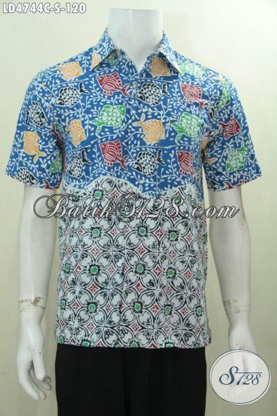 Sedia Baju Batik Lengan Pendek Motif Terbaru Yang Lebih