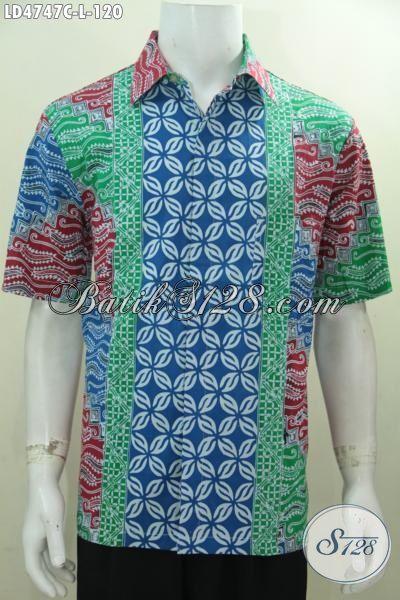 Produk Busana Batik Santai Terbaru, Pakaian Batik Trendy Buatan Solo Kwalitas Bagus Harga Terjangkau Sangat Cocok Buat Ke Pesta Dan Hangouts, Size L
