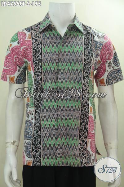 Agen Baju Batik Pria Jual Kemeja Batik Tiga Motif Cap