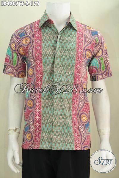 Hem batik pria motif terkini desain berkelas dan mewah Baju gamis batik buat remaja