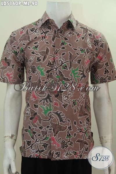 Sedia Baju Batik Trendy Motif Paling Keren Yang Banyak Di Buru Para Kawula Muda, Baju Batik Berkelas Berbahan Bagus Harga Di Bawah 100 Ribuan [LD5160P-M]