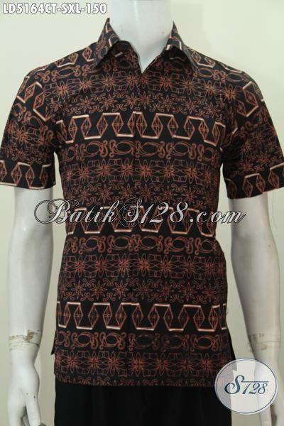 Jual Produk Baju Batik Jawa Tengah Desain Motif Unik Dan Inovatif Proses Cap Tulis Yang Mampu Membuat Penampilan Lebih Berkelas Dan Modis, Size S – XL