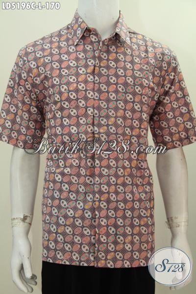 Toko Online Aneka Produk Batik Jawa Tengah, Sedia Hem Keren Buata pria Muda Dan Dewasa Motif Terbaru Proses Cap Fashionable Buat Santai Dan Resmi, Size L