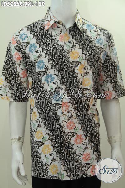 Baju Hem Batik Parang Bunga Berbahan Bagus Dengan Harga