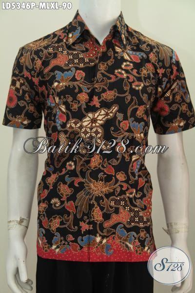 Pakaian Batik Lengan Pendek Lelaki Muda Dan Dewasa Untuk Tampil Gaya Dan Keren, Baju Batik Modis Dan Istimewa Proses Printing Motif Mewah Harga Dibawah 100 Ribuan, Size M -XL