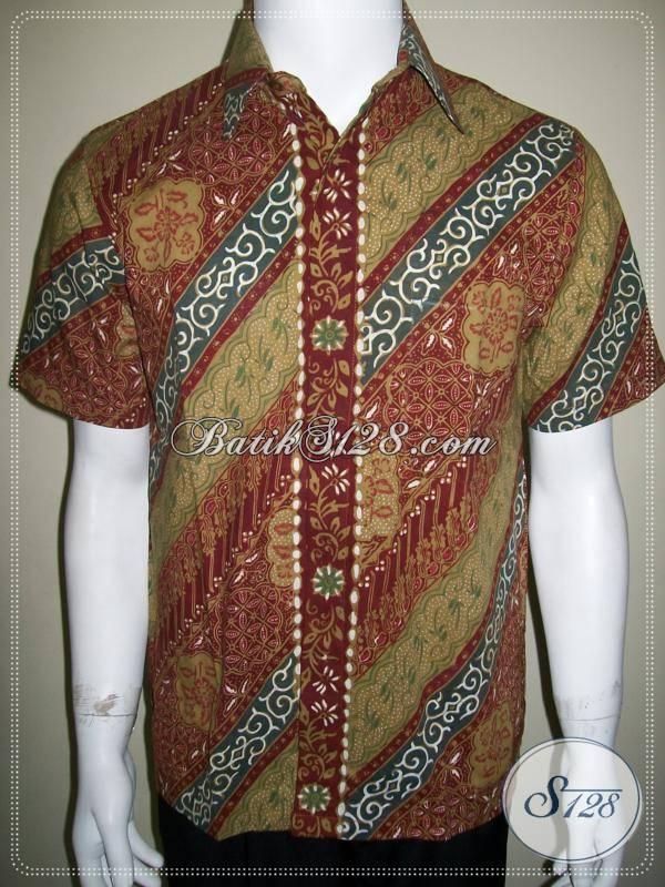 Kemeja Batik Lebaran Lengan Pendek Ukuran S, Gaul dan Keren