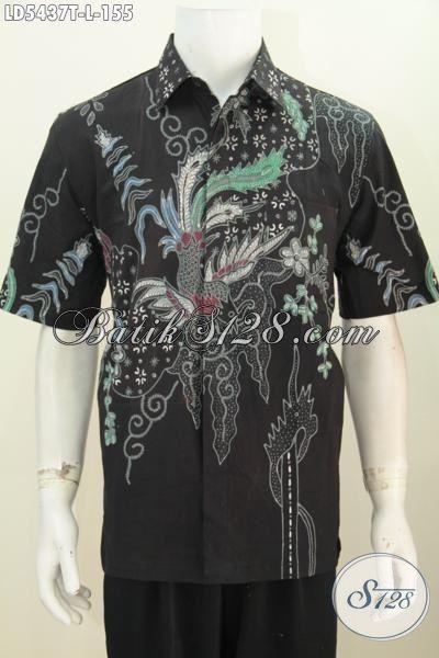 Batik Hem Cowok Lengan Pendek Keren Dan Istimewa Harga Biasa, Pakaian Batik Halus Size L Trend motif Terkini Penunjang Penampilan Lebih Stylish, Size L