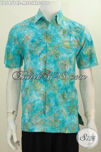 Baju Batik Trendy Halus Proses Cap Smoke Dengan Warna Keren Cocok Buat Anak Remaja Dan Pria Muda Tampil Lebih Gaya, Size M – L – XL
