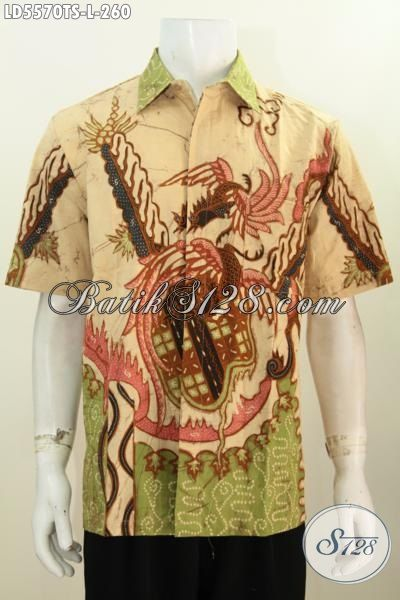 Toko Baju Batik Online Sedia Kemeja Lengan Pendek Kwlaitas Premium Proses Tulis Soga Ukuran Dengan Motif Modern Tampil Lebih Modis
