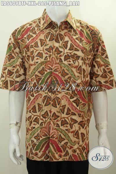 Kemeja Batik Pisang Bali Elegan Dan Mewah Baju Batik Klasik Jumbo