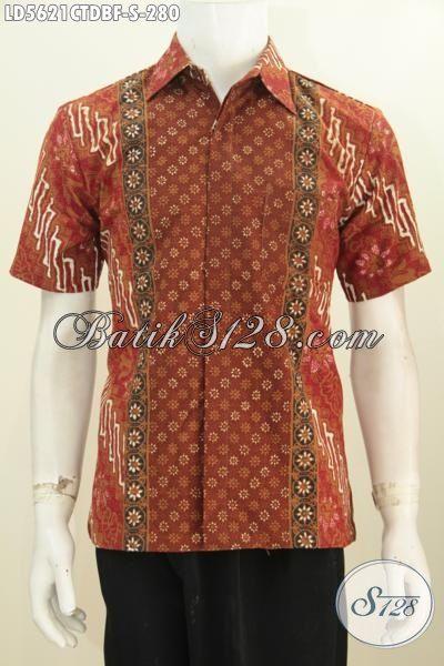 Kemeja Batik Pria Terbaru Baju Batik Lengan Pendek Bahan