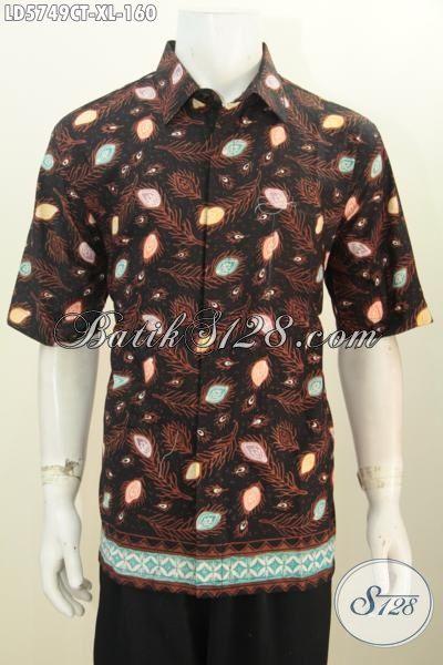Model baju batik pria untuk orang gemuk