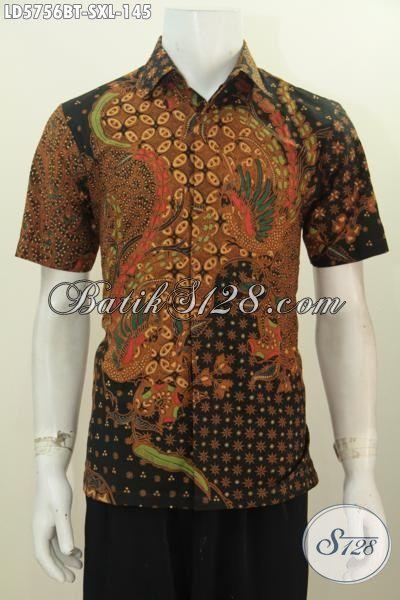 Baju Batik Bagus Harga Murah, Kemeja Batik Elegan Proses Kombinasi Tulis Bahan Adem Warna ELegan Pas Banget Untuk Kondangan, Size S – XL