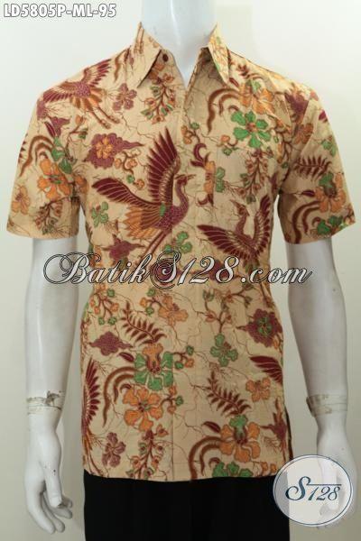 Baju Batik Printing Motif Bagus Bahan Adem Kwlaitas Istimewa, Busana Batik Solo Untuk Lelaki Kantoran Bisa Tampil Modis Dan Gaya, Size M – L