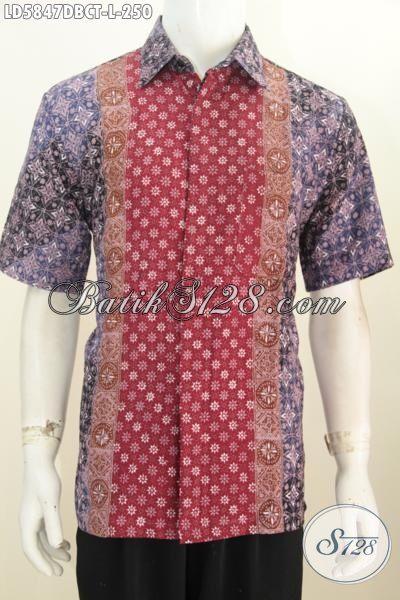 Baju batik millenial modern