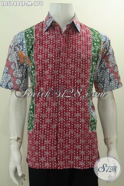 Baju Batik Kawula Muda Dengan Kombinasi Motif Klasik Dan Modern, Produk Busana Batik Terkini Dari Solo Proses Cap Tulis Untuk Penampilan Lebih Istimewa, Size M