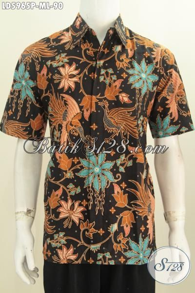 Baju Kemeja Batik Istimewa Buatan Solo, Produk Busana Batik Berkelas Trend Masa Kini, Jual Online Batik Printing Pakaian Santai Untuk Jalan-Jalan, Size M – L