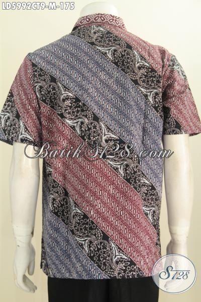 Produk Terbaru Busana Batik Motif Kombinasi, Pakaian Batik Halus Istimewa Trend Masa Kini Kwalitas Istimewa, Berbahan Halus Proses Cap Tulis Harga 175K, Size M