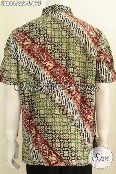 Sedia Pakaian Batik Istimewa Buatan Solo Indonesia Bahan Halus Size L Trend Mode Masa Kini Cocok Untuk Seragam Kerja Dan Pakaian Kondangan