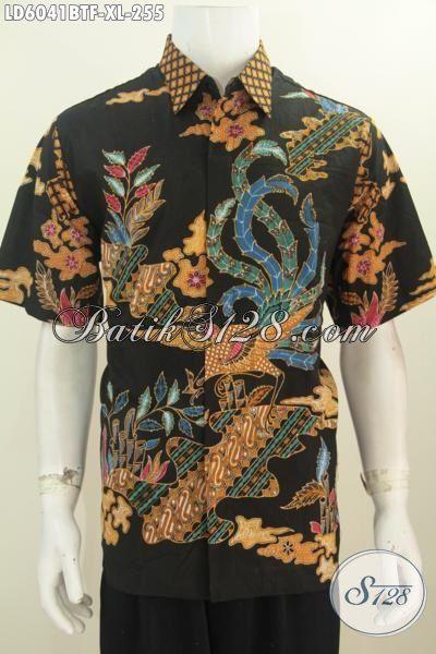 Baju Batik Pria Motif Terkini Trend 2016, Pakaian Batik Halus Istimewa Bahan Adem Kwalitas Halus Proses Kombinasi Tulis Full Furing Harga 255K