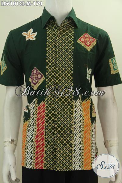Toko Baju Batik Online Paling Lengkap, Sedia Busana Batik Istimewa Buatan Solo Motif Terbaru Yang Bikin Penampilan Lebih Kece Dan Modis, Size M