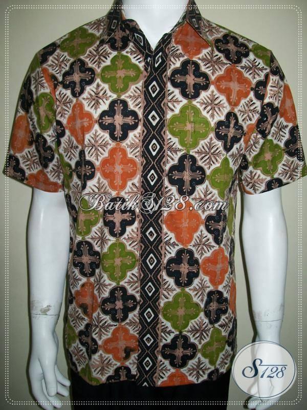 Batik Pria Solo, Kemeja Batik Solo Klasik Modern Online, Exclusive dan Elegan [LD610CT-M]