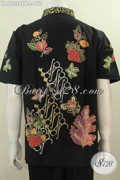 Toko Online Busana Batik Paling Terpercaya, Sedia Baju Batik Modis Berbahan Adem Kwalitas Istimewa Buatan Solo Penunjang Penampilan Lebih Istimewa, Size L
