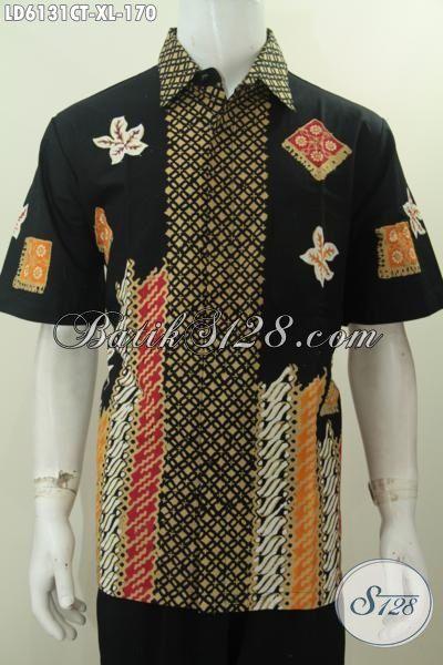 Pakaian Batik Pria Terkini Baju Batik Halus Ukuran Xl
