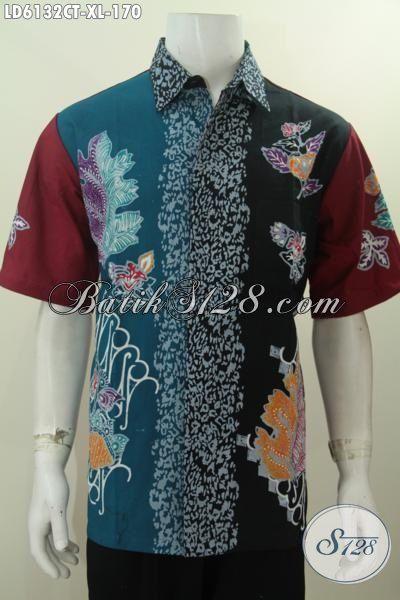 Jual Online Pakaian Batik Kwalitas Istimewa Berbahan Halus Proses Cap Tulis, Kemeja Batik Trendy Buatan Solo Indonesia Kwalitas Istimewa Untuk Penampilan Lebih Bergaya, Size XL