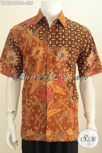 Produk Baju Batik Mewah Terbaru, Kemeja Batik Halus Ukuran L Bahan Adem Motif Berkelas Proses Full Tulis Di Lengkapi Daleman Furing Lebih Nyaman Dan Berkelas