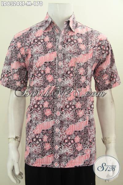Pakaian Batik Elegan Halus Proses Cap Tulis, Busana Batik Modis Trend Motif 2016 Proses Cap Tulis Harga 170K, Size M