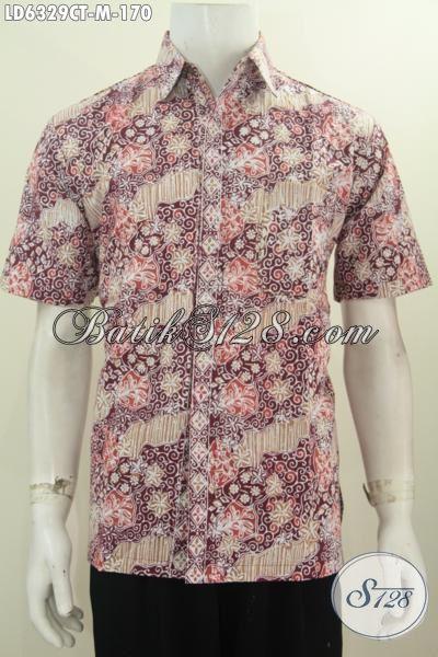 Baju Kemeja Batik Pria, Hem Batik Modis Halus Buatan Solo, Jual Online Batik Pria Muda Ukuran M Proses Cap Tulis Harga 100 Ribuan