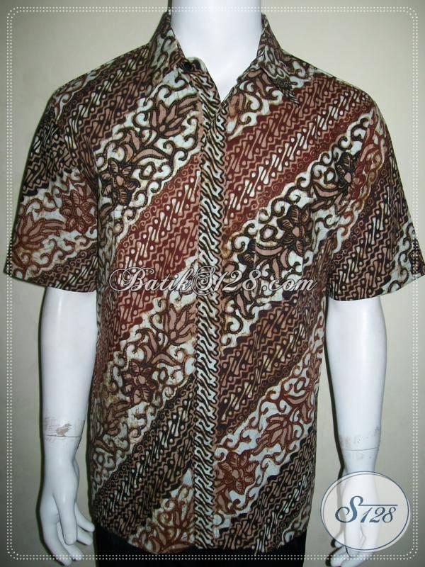 Kemeja Batik Pria Masih Ada, Dijual Online, Keren dan Eksklusif [LD632CT-L]
