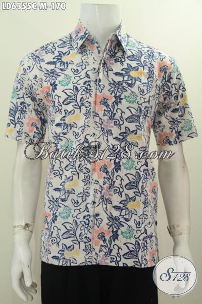 Baju Batik Gaul Harga 170k Hem Batik Lengan Pendek Motif