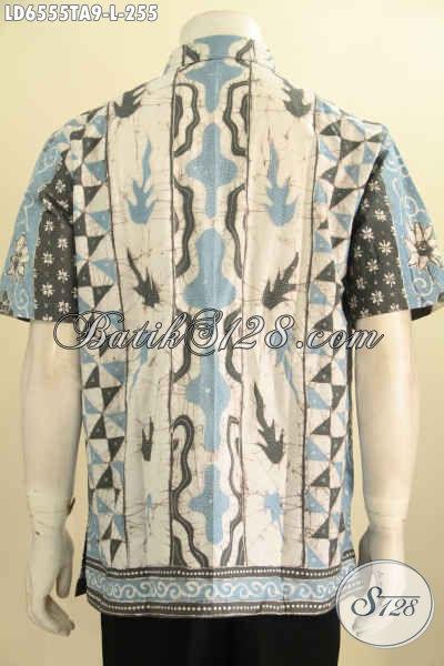 Toko Pakaian Batik Online Paling Lengkap, Sedia Hem Batik Tulis Warna Alam Lengan Pendek Harga 250 Ribuan, Size L