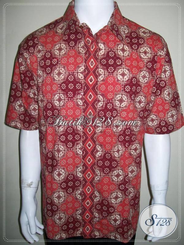 Baju Batik Pria Lengan Pendek Elegan Dan Exclusive