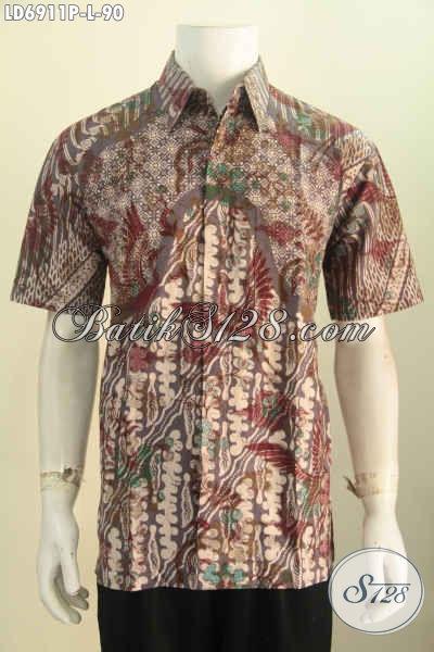 Busana Batik Solo Halus Motif Berkelas Yang Bikin Cowok Terlihat Modis Dan Rapi Proses Printing Harga Di Bawah 100 Ribuan [LD6911P-L]