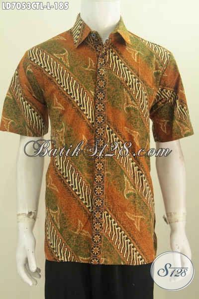 Baju Batik Modern Klasik Nan Istimewa Pakaian Batik Pria