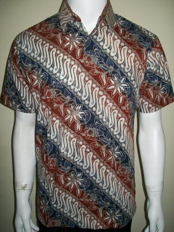 Kemeja Batik Ukuran M, Asli Batik Solo