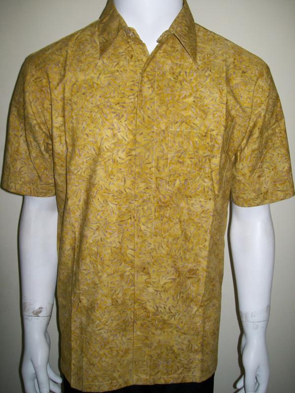 Baju Batik Pria Modern Murah Online Lengan Pendek Bahan