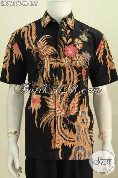 Produk Baju Batik Keren Terkini, Hadir Denga Bahan Halus Proses Tulis Model Lengan Pendek Harga 100 Ribuan [LD7517T-M]